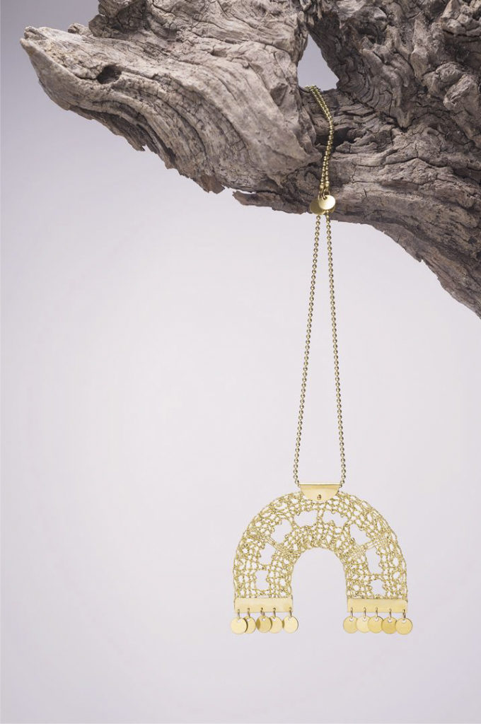 Ariadne's Thread – Helios Grande – Bobbin Lace Jewellery +2
